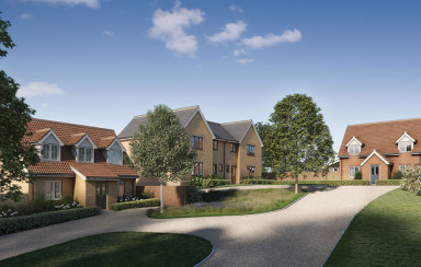 St Leonards housing development CGI